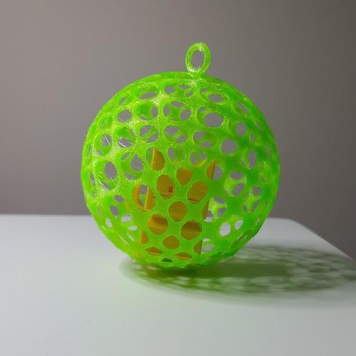 1.jpg Télécharger fichier STL gratuit Balle de type voronoï • Modèle pour impression 3D, DK7
