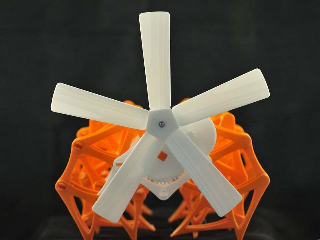 Pic_02.jpg Télécharger fichier STL gratuit Le moulin à vent de Strandbeest • Objet pour imprimante 3D, DK7