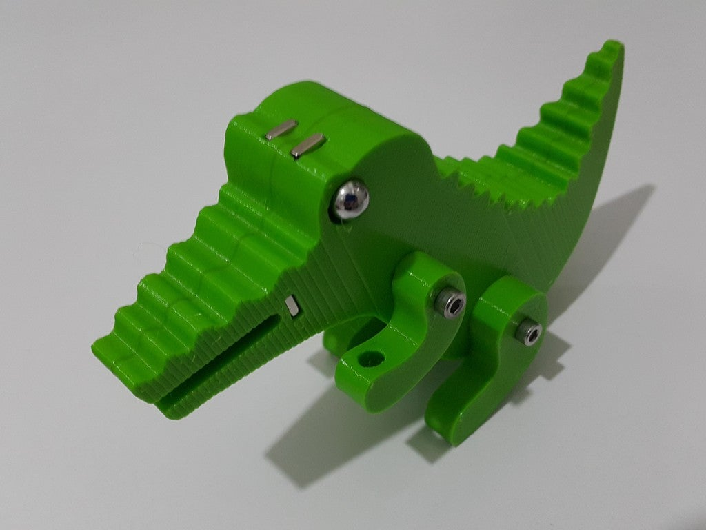 4643ce31cba8f91f320cc1fc180bdffc_display_large.jpg Télécharger fichier STL gratuit Crocodile Prusa Edition Crocodile • Objet à imprimer en 3D, DK7