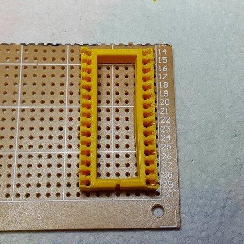 Download free 3D model Arduino Nano soldering cradle, DK7