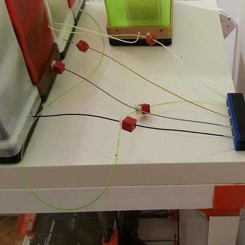 Download free 3D printer designs MMU2S fil. buffer bypass, DK7