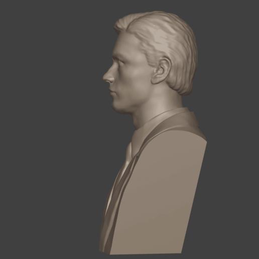4.png Download 3MF file Alain Delon • 3D print object, DK7