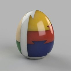 Download free 3D print files Egg 3D puzzle, DK7