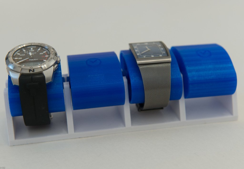 f996be225a97f23a9cde0f053c42465d_display_large.jpg Download free STL file Wristwatch holder • 3D printing model, DK7