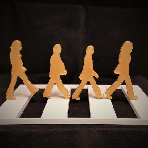 Télécharger fichier imprimante 3D gratuit Abbey Road, DK7