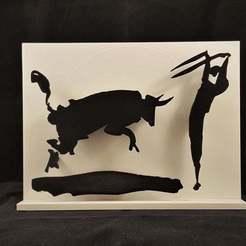 Impresiones 3D gratis Corrida de toros de Picasso, DK7