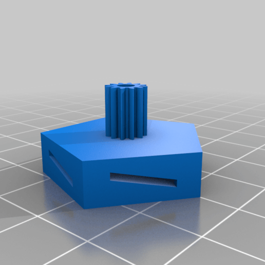 FanGear.png Télécharger fichier STL gratuit Le moulin à vent de Strandbeest • Objet pour imprimante 3D, DK7