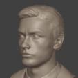 1.png Download 3MF file Alain Delon • 3D print object, DK7