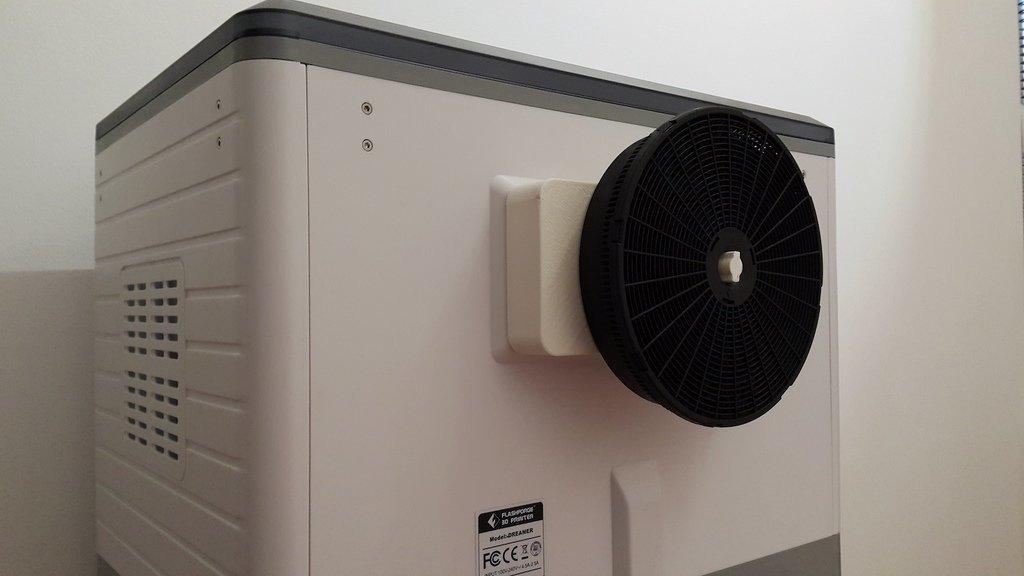 799bad5a3b514f096e69bbc4a7896cd9_display_large.jpg Download free STL file Carbon filter adaptor for Flashforge Dreamer • 3D printer design, DK7