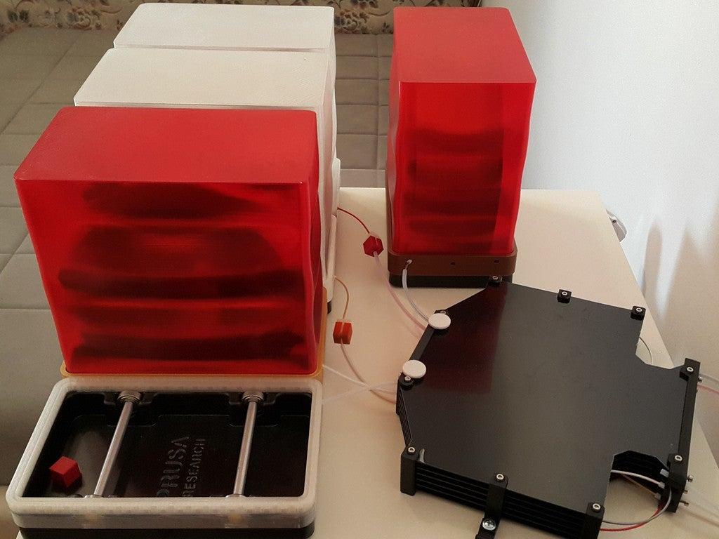 992fd276a920805cb9cef7907b90d0fd_display_large.jpg Télécharger fichier STL gratuit Prusa MMU2S Boîte sèche • Plan pour impression 3D, DK7