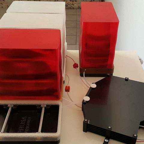 Download free 3D printer designs Prusa MMU2S Dry Box, DK7