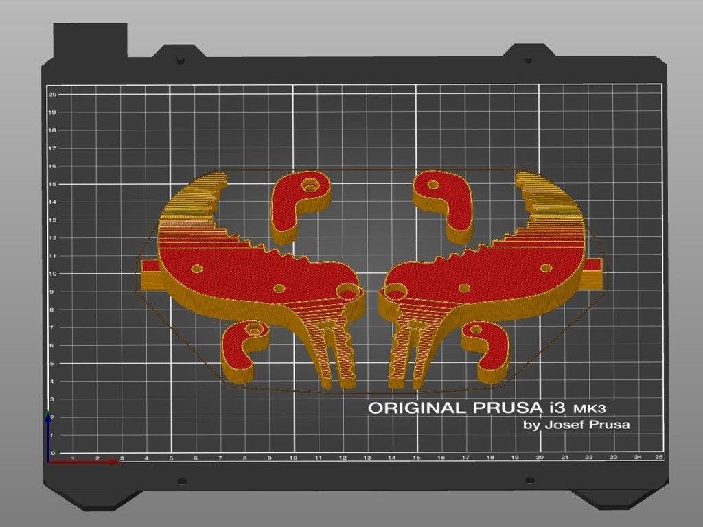 1f64d7f6d5bfd6bc73a1a583ace0b7da_display_large.jpg Télécharger fichier STL gratuit Crocodile Prusa Edition Crocodile • Objet à imprimer en 3D, DK7