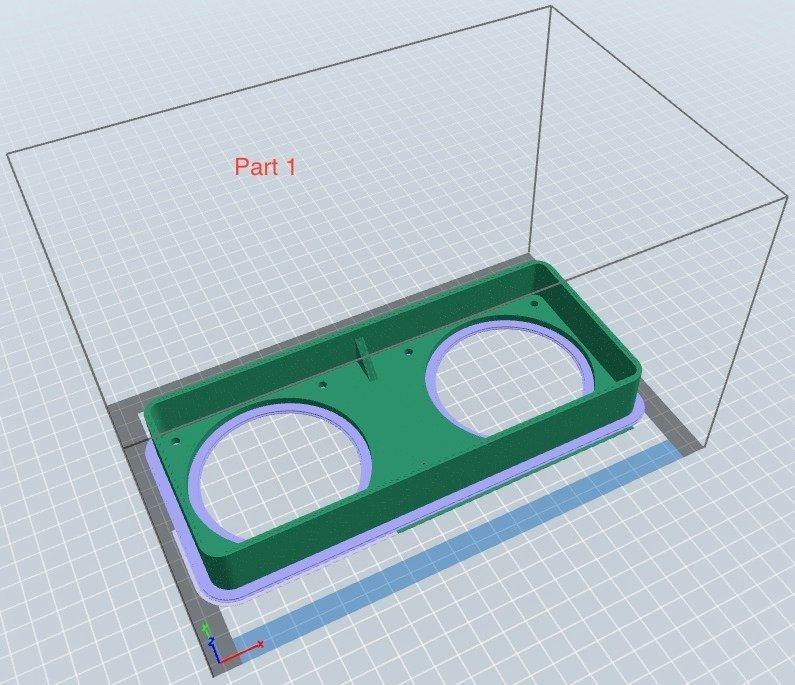 2ec21209eced7e3fe8e52ae96a9249d5_display_large.jpg Download free STL file Carbon filter adaptor for Flashforge Dreamer • 3D printer design, DK7