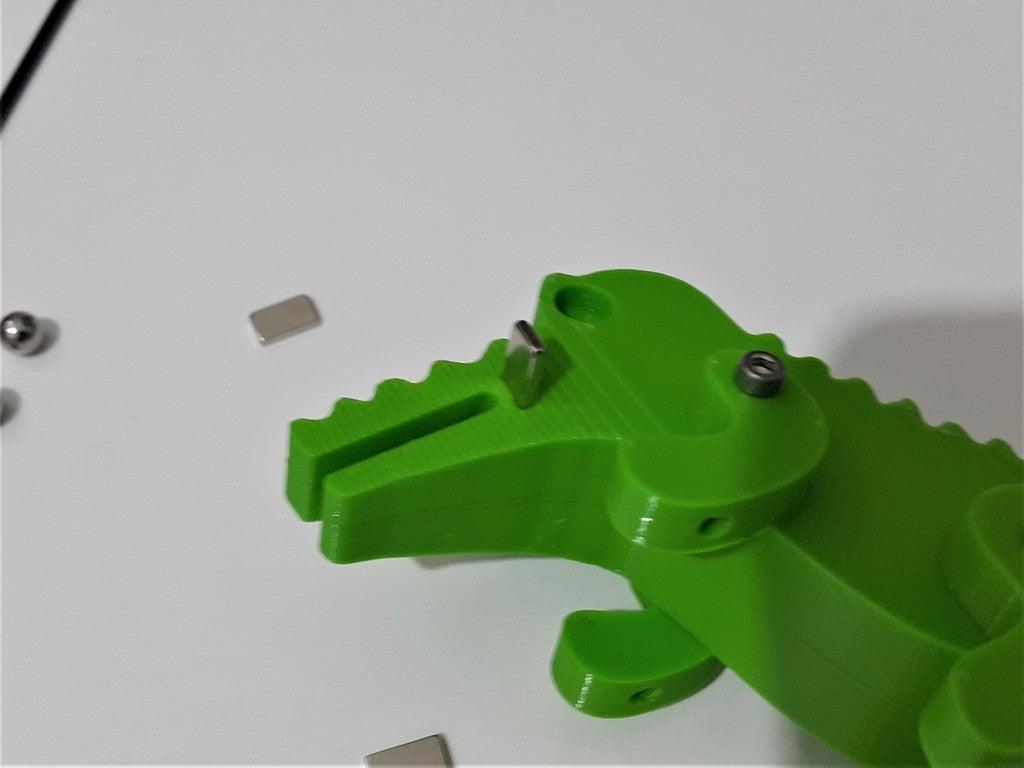 19ba3d5eeb48dcb53b4cfc58183d76eb_display_large.jpg Télécharger fichier STL gratuit Crocodile Prusa Edition Crocodile • Objet à imprimer en 3D, DK7
