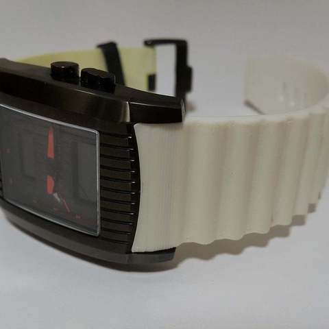 Download free STL files Jacques Lemans F1 replacement wristband, DK7