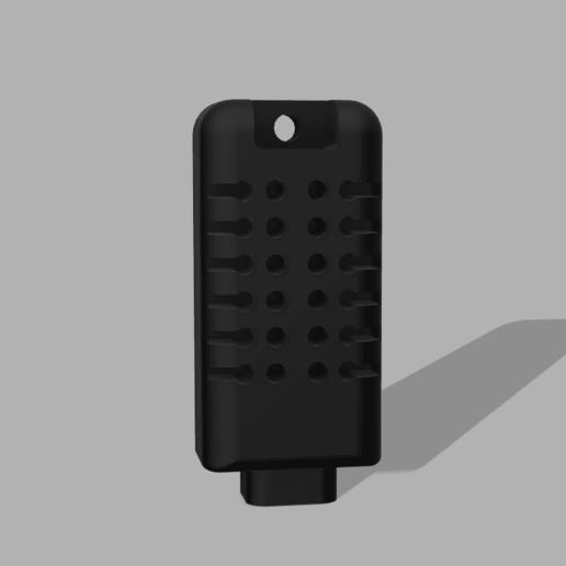 DHT21.png Télécharger fichier STL gratuit Capteur DHT21 • Design à imprimer en 3D, DK7