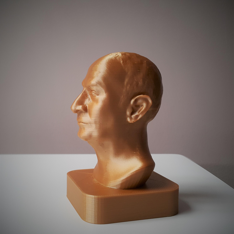 Print2.jpg Download STL file Louis Germain David de Funès de Galarza • Template to 3D print, DK7
