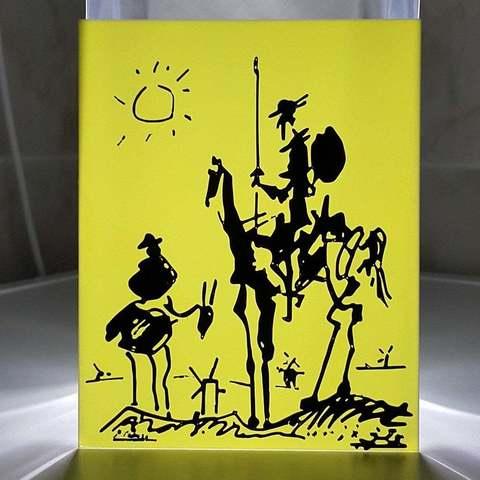 Télécharger plan imprimante 3D gatuit Don Qixote de Pablo Picasso, DK7
