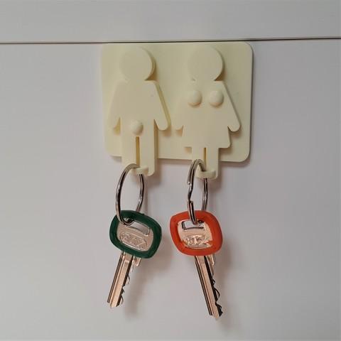 Télécharger fichier imprimante 3D Porte-clés/ porte-clés, DK7
