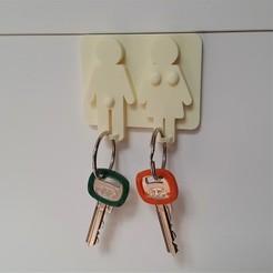 Télécharger fichier STL Porte-clés/ porte-clés • Plan pour imprimante 3D, DK7