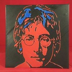 Descargar archivos STL gratis Lennon de Warhol, DK7