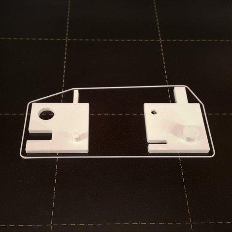 Download free 3D printer files Calibration template, DK7