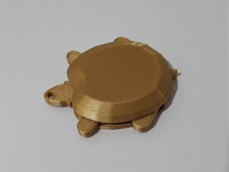 1.jpg Download free STL file Funky turtle keychain • 3D print design, DK7