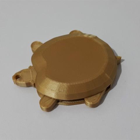 Download free STL file Funky turtle keychain, DK7