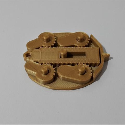 2.jpg Download free STL file Funky turtle keychain • 3D print design, DK7