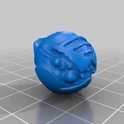 spiderhead1.jpg Télécharger fichier STL gratuit sculpture de tête d'araignée • Plan pour impression 3D, yttrium