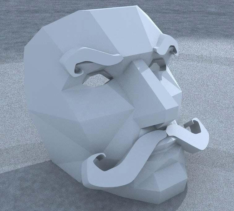 Bildschirmfoto_2013-01-16_um_13.55.10.jpg Download free STL file Moustache Mask addon • 3D print object, yttrium