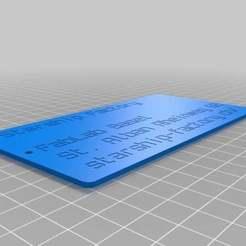 luggage_label_customizer_2013-11-01_20131106-1047-1uv99v2-0.jpg Download free STL file Starship-Factory Batch • 3D printable template, yttrium