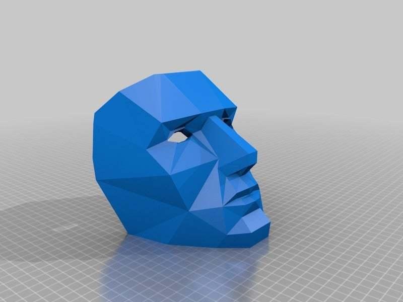 mask_bigeyes.jpg Download free STL file Moustache Mask addon • 3D print object, yttrium