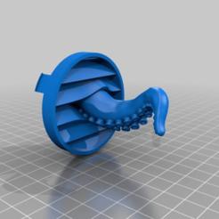 Download free OBJ file Tentacle guard fan guard • 3D printable model, yttrium