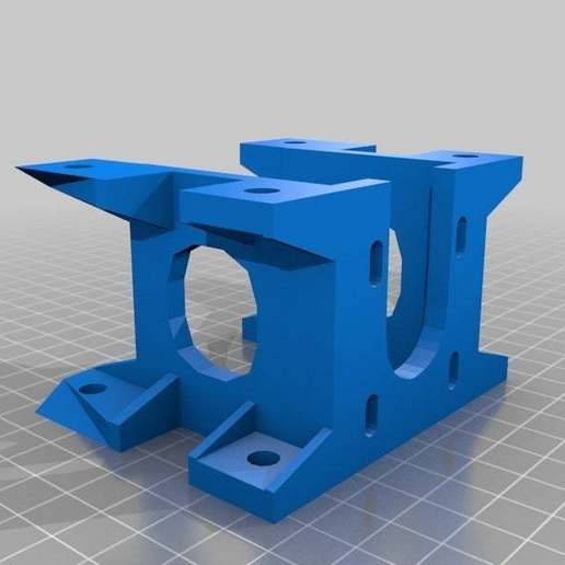 allround_Nema17_mount.jpg Download free STL file WireBender in Metric • 3D print template, yttrium