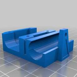 x-carriage1.jpg Download free STL file Modified x-carriage and Nozzle-mounting • 3D printing design, yttrium