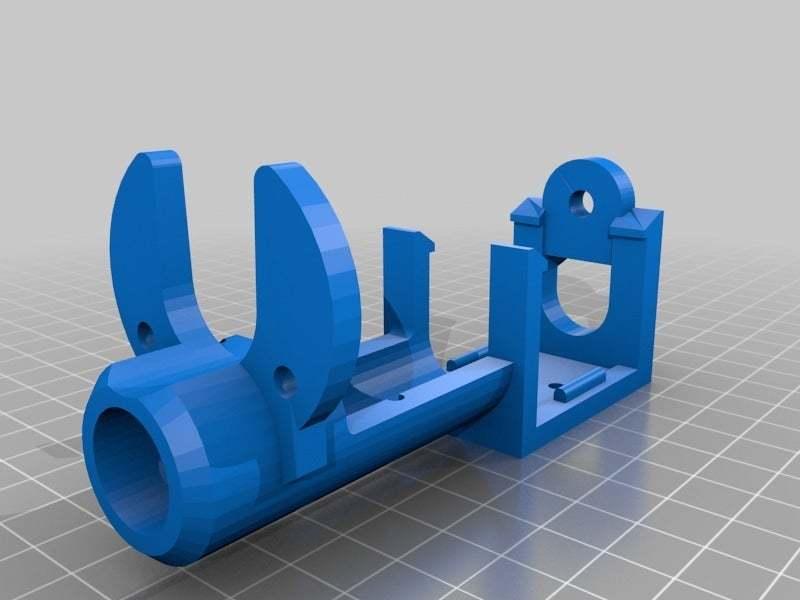 solenoid_mount5.0.jpg Download free STL file WireBender in Metric • 3D print template, yttrium