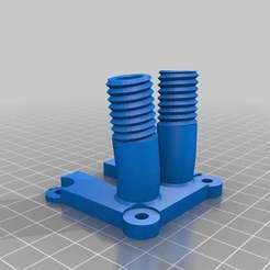 dualBowden_bananajoe.jpg Télécharger fichier STL gratuit Double partie de la mise à niveau de Bowden • Design à imprimer en 3D, yttrium