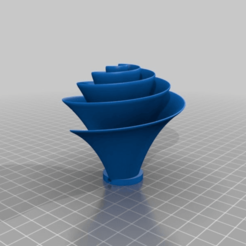 7e8bb590c7051e140293e89dd18205d9.png Download free STL file Lilly Impeller 2, free after Jay Harmans drawings • Object to 3D print, yttrium