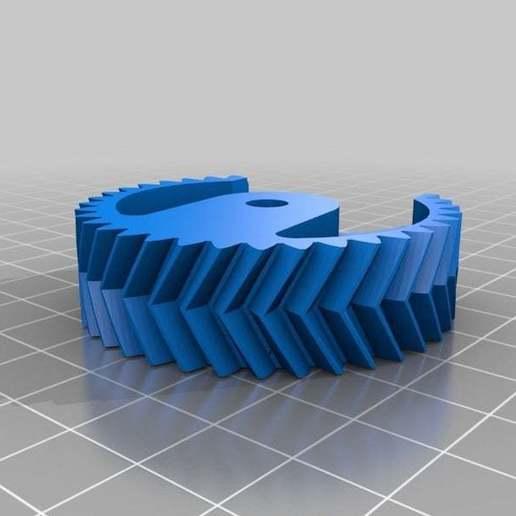 Motorgear1_repariert.jpg Download free STL file WireBender in Metric • 3D print template, yttrium