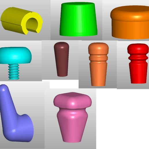 Descargar archivo 3D EG_CAD Accesorios 9X, EG_CAD
