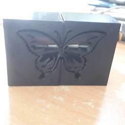 Descargar Modelos 3D para imprimir gratis Caja de protección Caja de protección de la batería de mariposa, davidlyon666