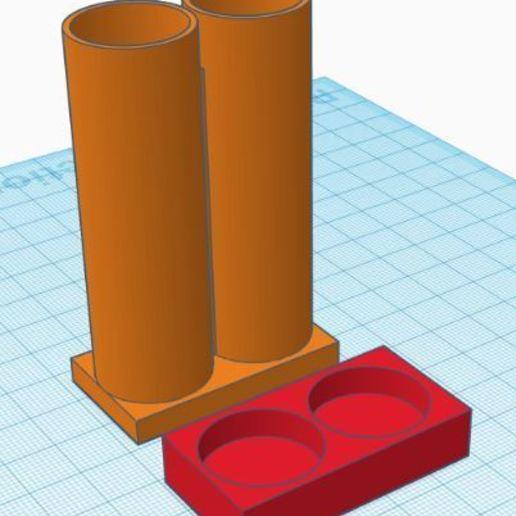 Download 3D print files single battery box, davidlyon666