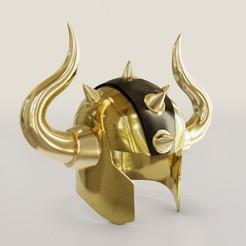Download 3D printing designs Taurus helmet, fabiofenix88