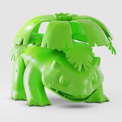 venusaur 3.jpg Download STL file Venusaur • 3D printing object, fabiofenix88
