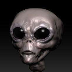 alien 3.jpg Download STL file Extraterrestrial • 3D printing object, fabiofenix88