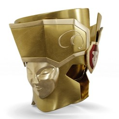 Download 3D printing files Gemini helmet, fabiofenix88