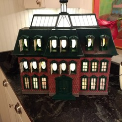 Descargar modelo 3D gratis Chevy Chase Vacaciones de Navidad Casa de Adviento, mcmaven