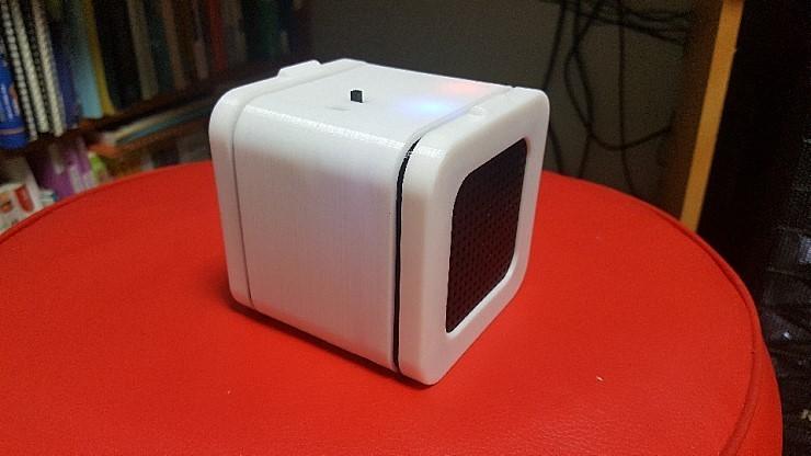 externalFile_1.jpg Download free STL file Bluetooth Cube Speaker • 3D printing template, teraswing