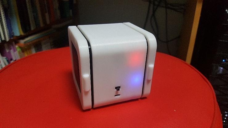 externalFile.jpg Download free STL file Bluetooth Cube Speaker • 3D printing template, teraswing